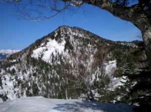1810m峰より地蔵山