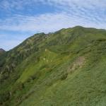 シュナイダー尾根から石狩岳