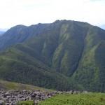 音更山から石狩岳