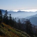 皇海山遠望