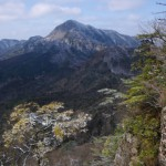 鷹ノ巣山三ノ岳からの英彦山
