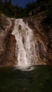 宝剣の滝 2つ目