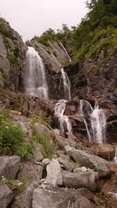 見事な40m大滝